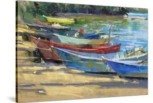 Fishing Boats Marta by Nancie King Mertz