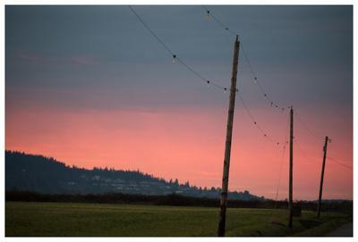 Pink Sky at Night