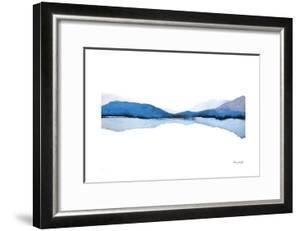 Mountain Reflection by Nancy Knight