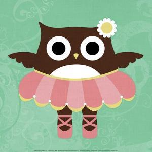 Ballerina Owl by Nancy Lee