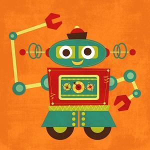 Robot 2 by Nancy Lee