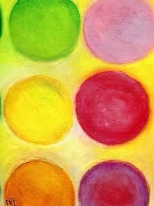 The Happy Dots 1, 2014 by Nancy Moniz