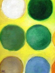 The Happy Dots 2, 2014 by Nancy Moniz