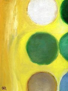 The Happy Dots 3, 2014 by Nancy Moniz