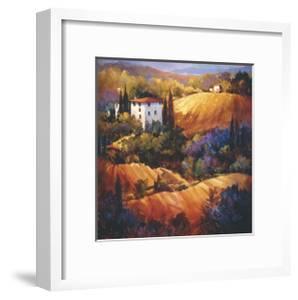 Evening Glow Tuscany by Nancy O'toole