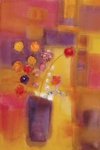 Welcoming Flowers I by Nancy Ortenstone
