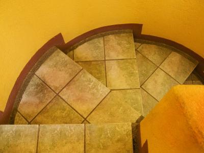 Abstract Pattern on Stairs, San Miguel De Allende, Mexico