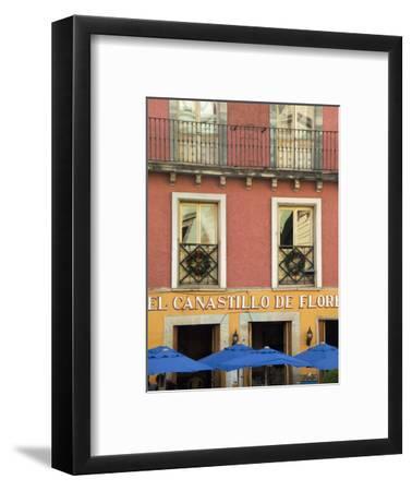 Restaurant Facade and Umbrellas, Guanajuato, Mexico