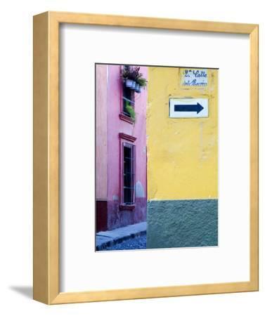 Street Sign, San Miguel De Allende, Mexico