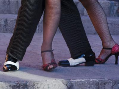 Tango Dancers' Feet, San Miguel De Allende, Mexico
