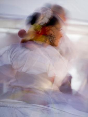 Twirling Female Dancer, San Miguel De Allende, Mexico