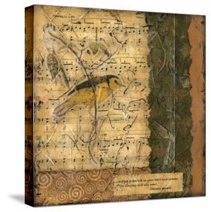 Bird Melody II by Nancy Slocum