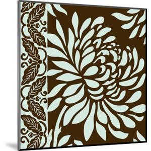 Medium Striking Chrysanthemums II by Nancy Slocum