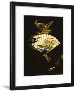 Oriental Fan I by Nancy Slocum