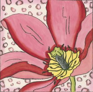 Pink Petals II by Nancy Slocum