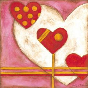 Pop Hearts IV by Nancy Slocum