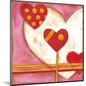Pop Hearts IV by Nancy Slocum