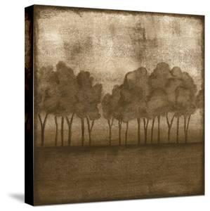 Trees at Dusk II by Nancy Slocum