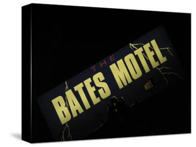 Bates Motel Sign, Coeur d'Alene, Idaho, USA