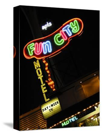 Fun City Motel Sign, Las Vegas, Nevada, USA