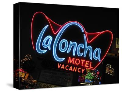 La Concha Motel Sign, Las Vegas, Nevada, USA