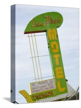 Loma Verde Motel Sign, New Mexico, USA