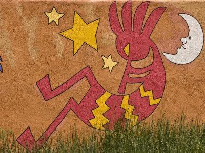 Musical Wall Mural, Santa Fe, New Mexico
