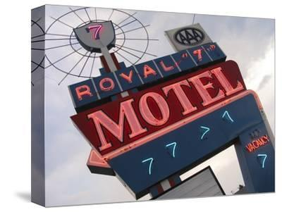 Royal 7 Motel Sign, Bozeman, Montana, USA