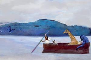 Animal Canoe by Nancy Tillman