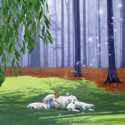 Asleep With Sheep by Nancy Tillman