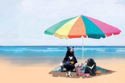 Beach Picnic by Nancy Tillman