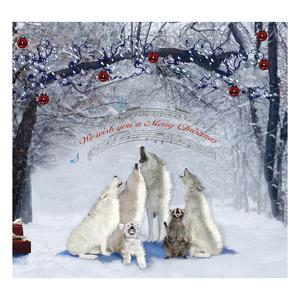 Caroling Wolves by Nancy Tillman