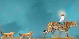 Cheetah Walk by Nancy Tillman