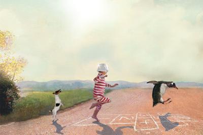 Hopscotch by Nancy Tillman