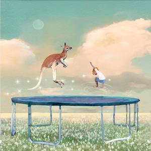 Jumping With Kangaroo by Nancy Tillman