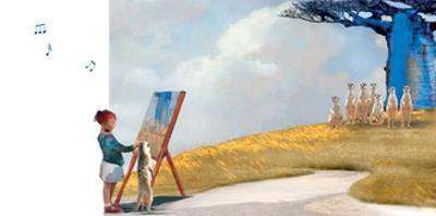 Painting with Meerkats by Nancy Tillman