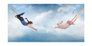 Piggy Trapeze by Nancy Tillman