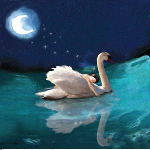 Swan And Child by Nancy Tillman