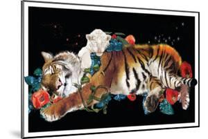 Tiger And Cub Original by Nancy Tillman