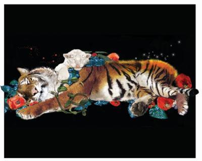 Tiger And Cub by Nancy Tillman