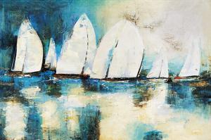 Velero Azul by Nancy Villarreal Santos