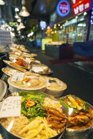 Nandaemun Food Market, Seoul, South Korea, Asia-Christian-Photographic Print
