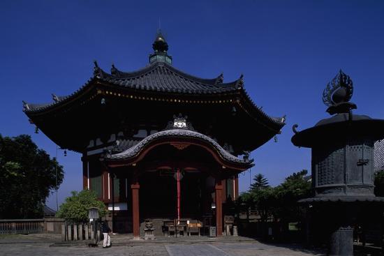 Nanen-Do Hall, from the Kofuku-Ji Complex in Nara--Photographic Print