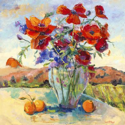 Floral Kaleidoscope II by Nanette Oleson