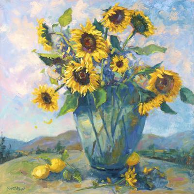Floral Kaleidoscope III by Nanette Oleson