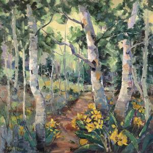Four Seasons Aspens II by Nanette Oleson
