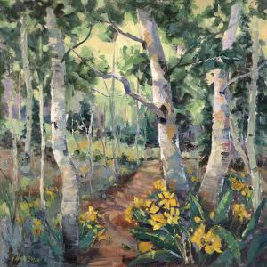 Four Seasons Aspens II by Nanette Oleson