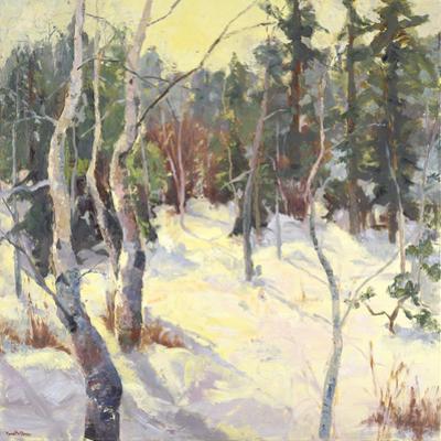 Four Seasons Aspens IV by Nanette Oleson