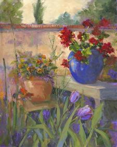 Geranium Awakening by Nanette Oleson