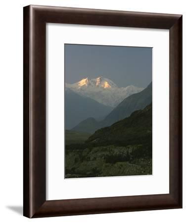 Nanga Parbat at Sunrise-George F. Mobley-Framed Photographic Print